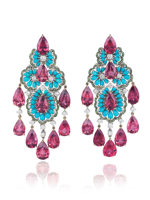 Chopard turquoise rubellite