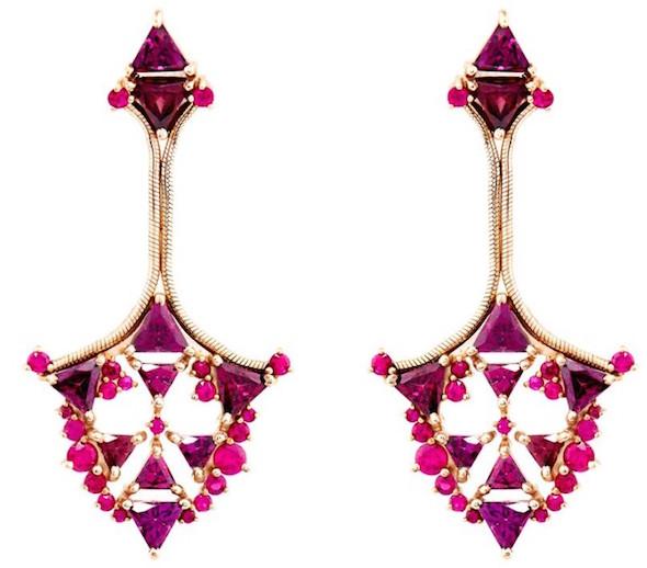 Fernando Jorge ruby earrings