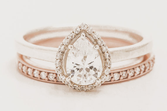 engagement rings traditional wedding the everygirl non