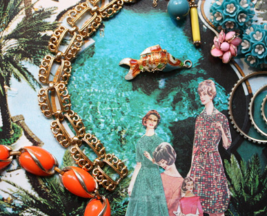Poolside Glam Jewelry Trend Spring / Summer 2011