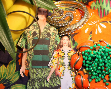 Tropical Lush Jewelry Trend Spring / Summer 2011 - S / S 11 Jewellery